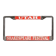 SHAKESPEARE LICENSE PLATE