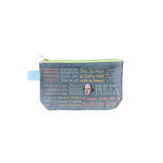 Shakespearean Insults Zipper Bag