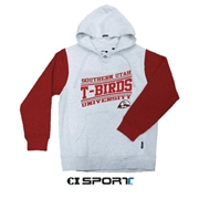 Color Block Hockey Hoodie